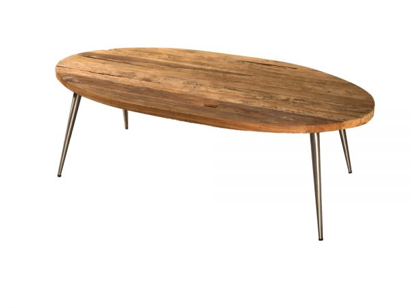 COUCH TABLE RETRO OVAL.