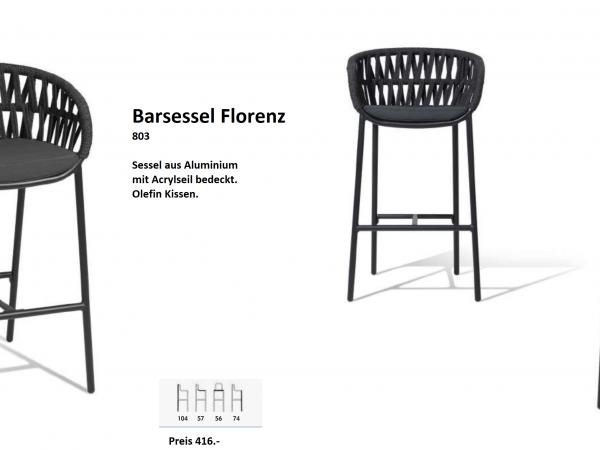 Barsessel Florenz